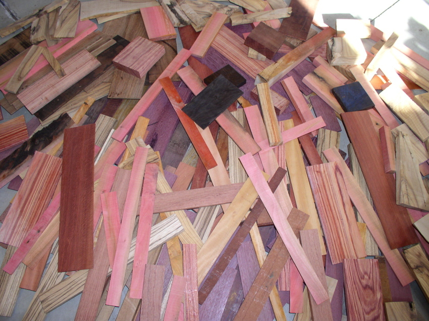 Clearance Items From Griffin Exotic Wood