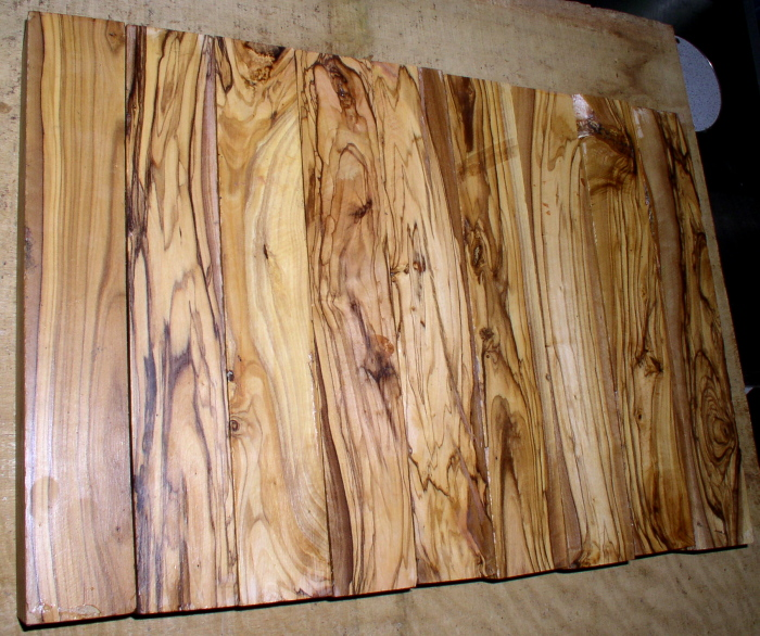 Biblical woods, shittim wood, olivewood from Griffin Exotic Wood