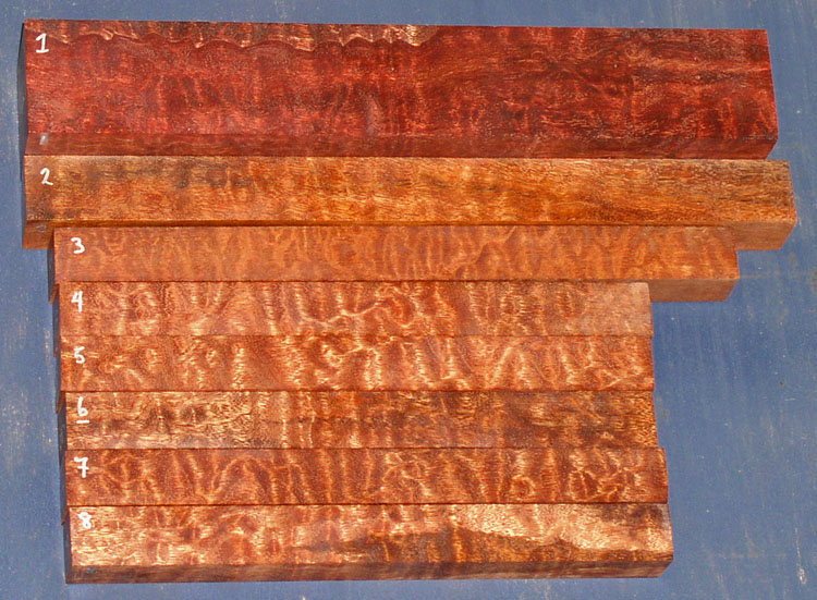 Quilted Sapele And Pomele Sapele From Griffin Exotic Wood