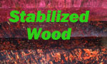 Stabilized wood